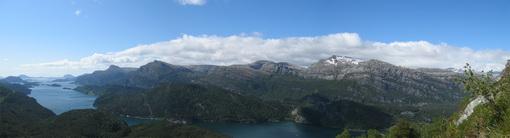Panorama Norddalsfjorden